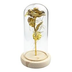 Evighetsros med ljusslinga - Guld Guld