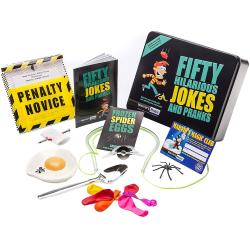 Fifty Hilarious Jokes and Pranks - Marvins Magic multifärg