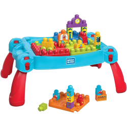Fisher Price, Build and Learn Table Byggsats - Blå multifärg