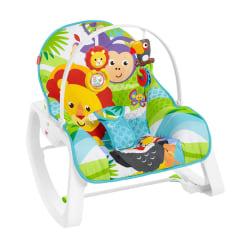 Fisher-Price, Vibrerande Babysitter - Blå multifärg