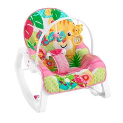 Fisher-Price, Vibrerande Babysitter - Rosa multifärg