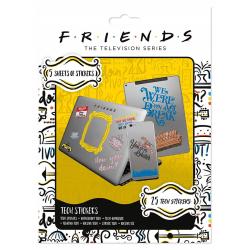 Friends - 25x Klistermärken multifärg