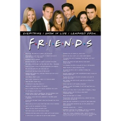 Friends, Maxi Poster - Everything I Know multifärg
