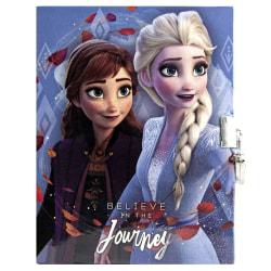 Frozen 2, Dagbok med Lås - Believe in the Journey multifärg