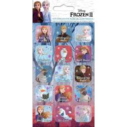 Frozen 2 / Frost 2, 15x Klistermärken multifärg