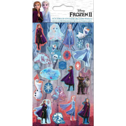 Frozen 2 / Frost 2, 22x Klistermärken multifärg
