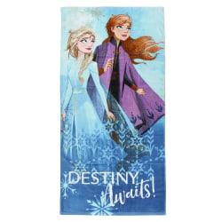 Frozen 2, Handduk - Anna och Elsa, Destiny Awaits multifärg