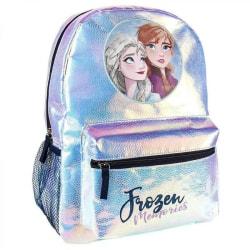 Frozen 2, Holografisk Ryggsäck - Elsa och Anna Blå
