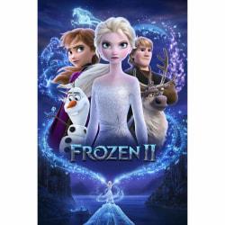 Frozen 2, Maxi Poster - Magi Multifärg