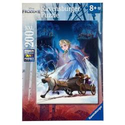 Frozen 2, Pussel - XXL - 200 Bitar multifärg