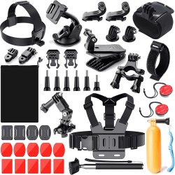 GoPro Tillbehör - 41 delar | Pro kit multifärg