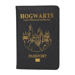 Harry Potter Passhållare Hogwarts Svart