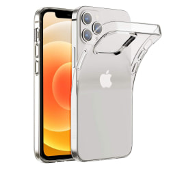 iPhone 12 Skal - Transparent 6.1 tum Transparent