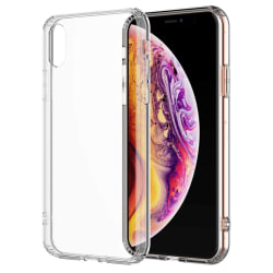 iPhone Xs Max - Transparent silikonskal Transparent