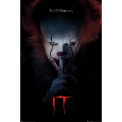 It, Maxi Poster - Pennywise Hush multifärg