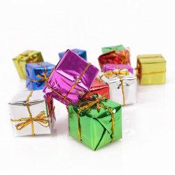 Juldekoration   Jul - Presentaskar för dekoration - 12 st multifärg