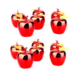 Julgranspynt, Äpplen - 12-pack (Röd) Röd