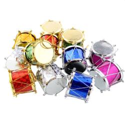 Julgranspynt, Trummor - 12-pack multifärg