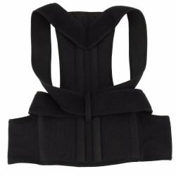 Justerbar Hållningsväst - XL Black XL