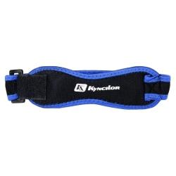 Justerbar knästrap för löpning - Blå Blå
