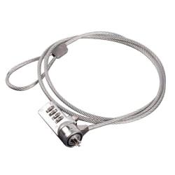 Kodlås för Bärbar Dator / Laptop Silver