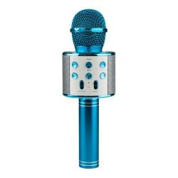 KTV - Trådlös Karaoke Mikrofon - Blå Blå