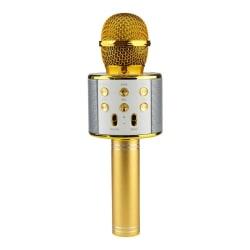 KTV - Trådlös Karaoke Mikrofon - Guld Guld