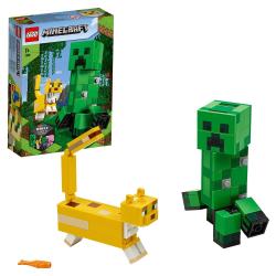 LEGO Minecraft - BigFig Creeper och Ozelot multifärg