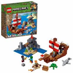 LEGO, Minecraft - Piratskeppsäventyr multifärg