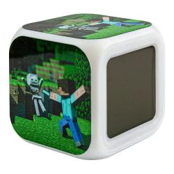 Minecraft Digital Väckarklocka - Steve Nr. 1 multifärg