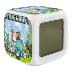 Minecraft Digital Väckarklocka - Steve Nr. 2 multifärg