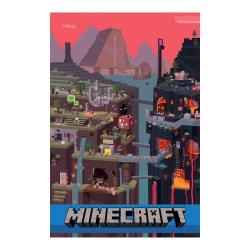 Minecraft, Maxi Poster - World multifärg