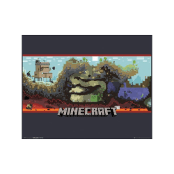 Minecraft, Mini Poster - Underground multifärg