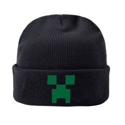 Minecraft, Mössa - Creeper Svart one size