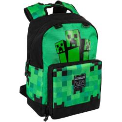 Minecraft, Ryggsäck - Creeper Fatigued Again Grön