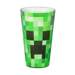 Minecraft, Stort Dricksglas - Creeper Grön