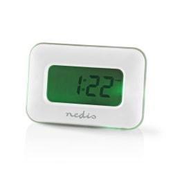 Multifunktionell Digital Väckarklocka - Vit Vit