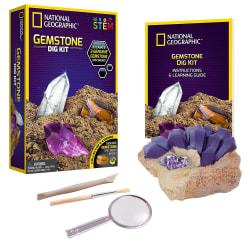 National Geographic - Gemstone Dig Kit multifärg