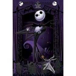 Nightmare Before Christmas, Maxi Poster - Jack Svart