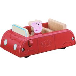 Peppa Pig - Leksaksbil i Trä multifärg