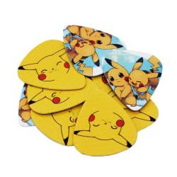 Pikachu i 10-pack - Gitarrtillbehör multifärg
