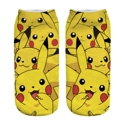 Pokémon Ankelstrumpor Nr. 1 Gul one size