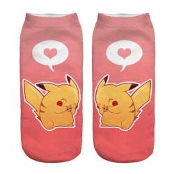 Pokémon Ankelstrumpor Nr. 4 Rosa one size