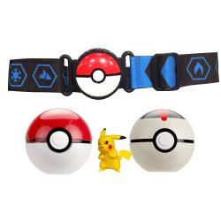 Pokemon, Clip n Go Bältesset - Blå multifärg