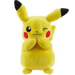 Pokémon, Gosedjur, Pikachu - 24 cm Gul