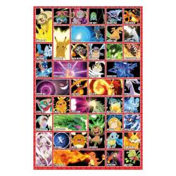 Pokémon, Maxi Poster - Moves multifärg