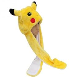 Pokémon Pikachu mössa med halsduk Gul one size