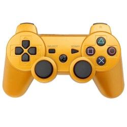 PS3 Trådlös Handkontroll - Guld Guld