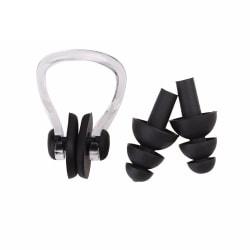 Simutrustning / tillbehör - Näsklämma och öronproppar Svart