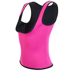 Slimming top för träning - Rosa Pink S